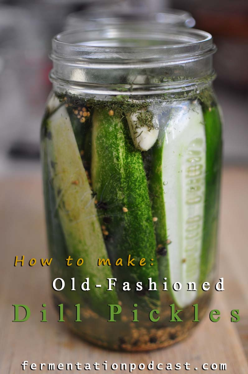 How to Can Dill Pickles