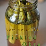 How to make pickled okra
