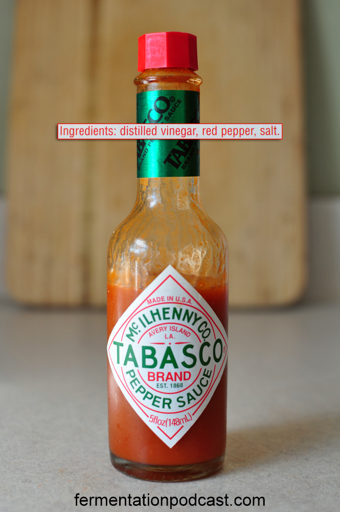 Tabasco sauce ingredients