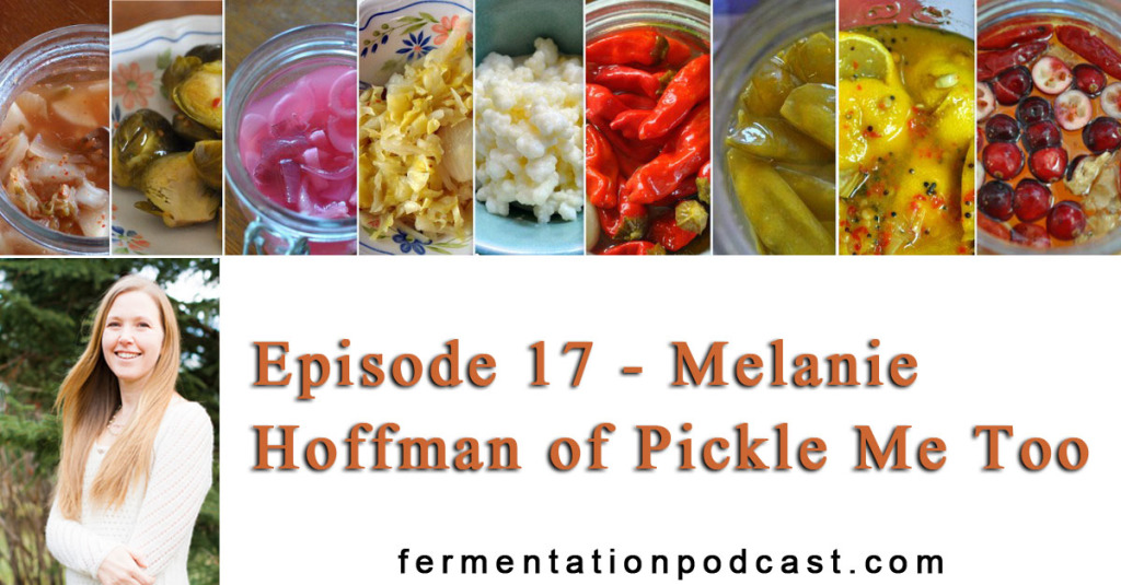 Episode 17 - Melanie Hoffman of Pickle Me Too