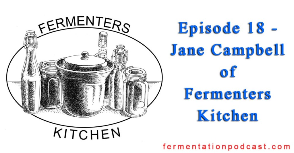 Episode 18 - Jane Campbell of Fermenters Kitchen